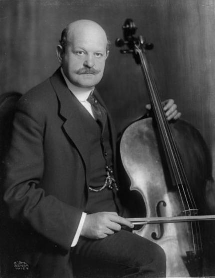 Friedrich Buxbaum, cellist