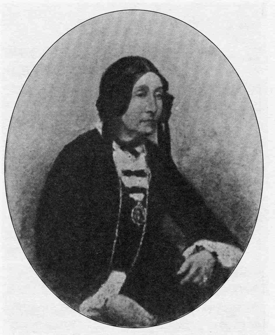 Wife of Edward Bunting