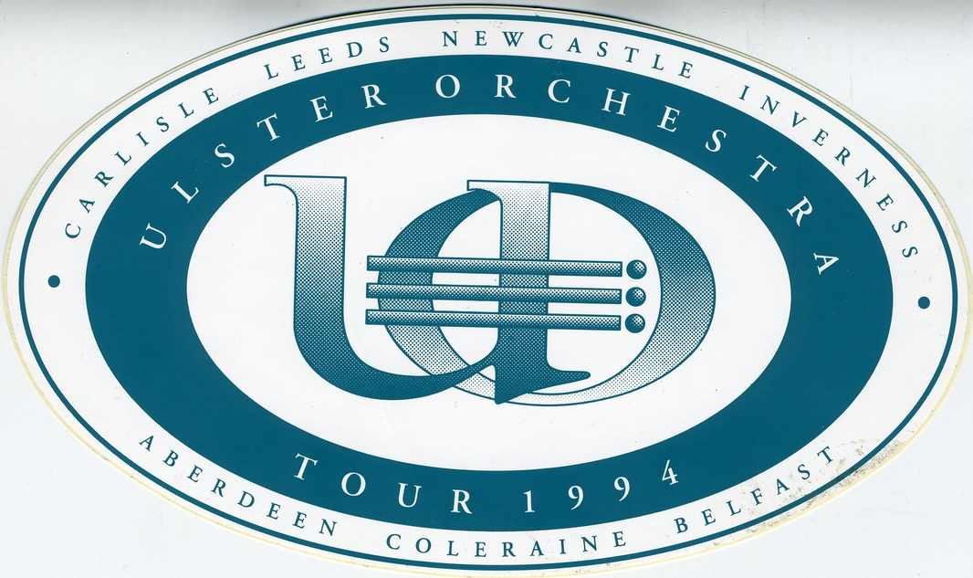 Ulster Orchestra's UK Tour, 1994