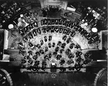 Ulster Orchestra, aerial pic