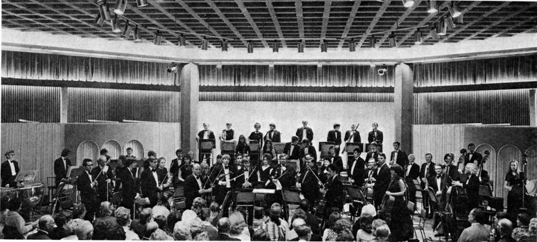 Ulster Orchestra in 1972, Members' Rooms, Balmoral