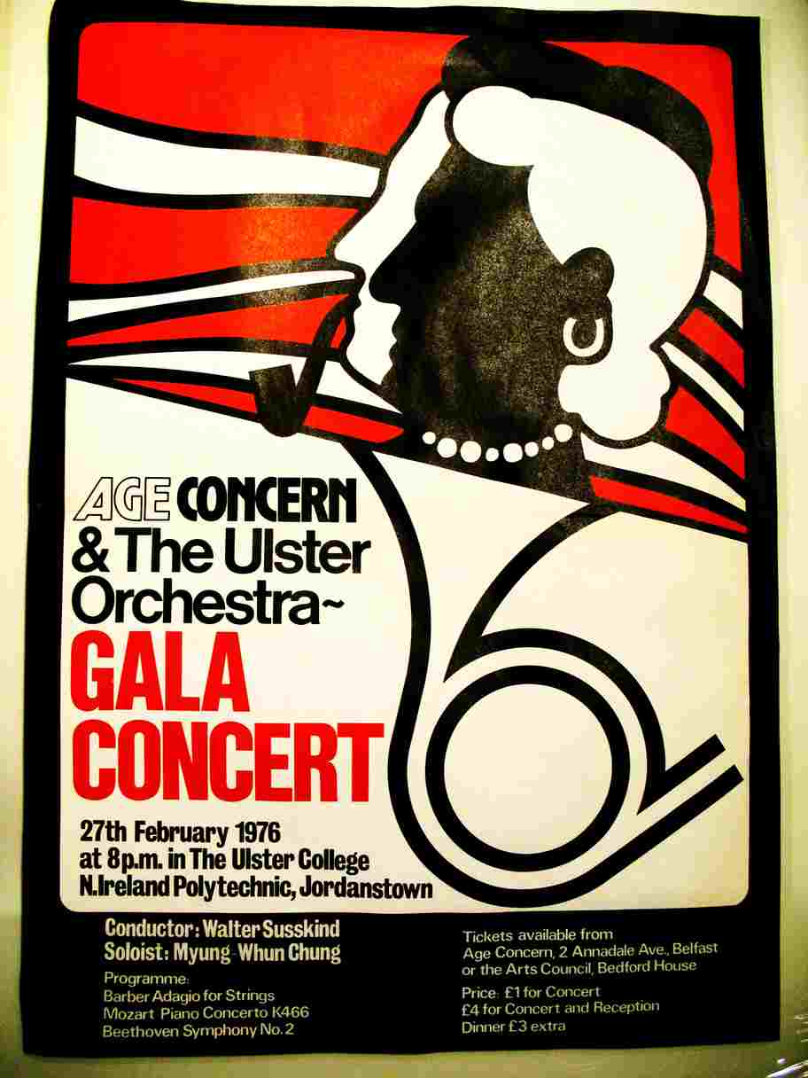 Ulster Orchestra and Age Concern 1976