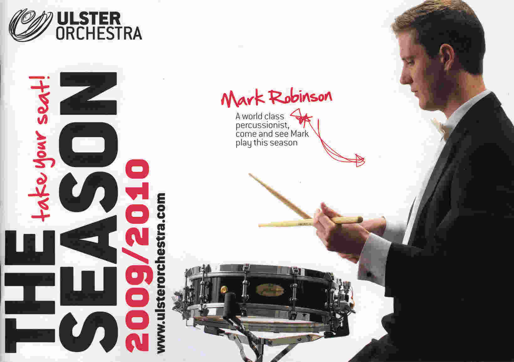 Ulster Orchestra season cover 2009-2010