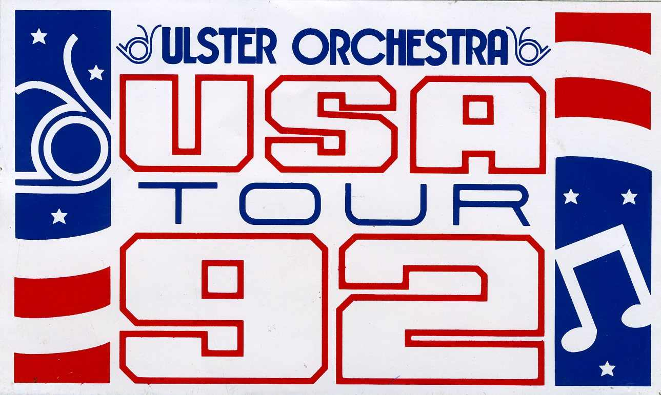 USA Tour by the Ulster Orchestra 1992