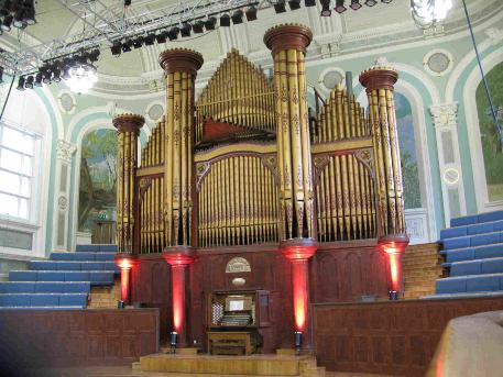 Mulholland Organ, Ulster Hall. Belfast, 2012 - Pic by DB