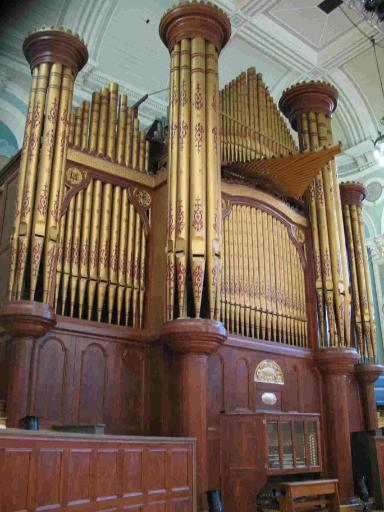 Ulster Hall organ - pic by David Byers