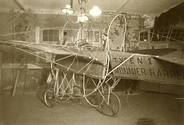 Monnier Harper's Type No.1 airplane