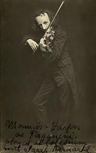 Monnier Harper as Paganini