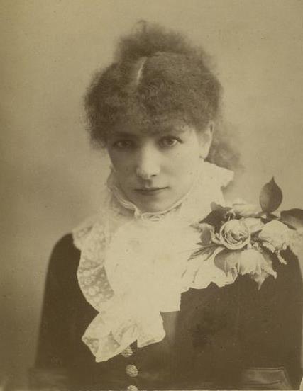 Sarah Bernhardt by William Downey