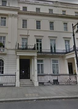 35 Belgrave Square, London