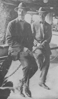 Arthur and Reginald Paget, 1914
