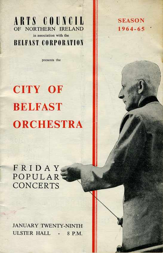 City of Belfast Orchestra, Jan 1965