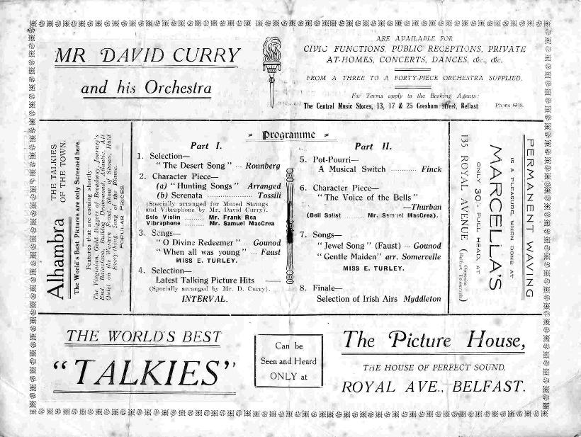 David Curry and Orchestra in concert