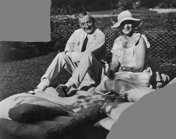 Brig-Gen Trotter and Mrs Reginald Paget, 1933