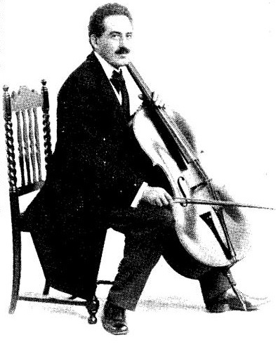 Hans Dressel, cello