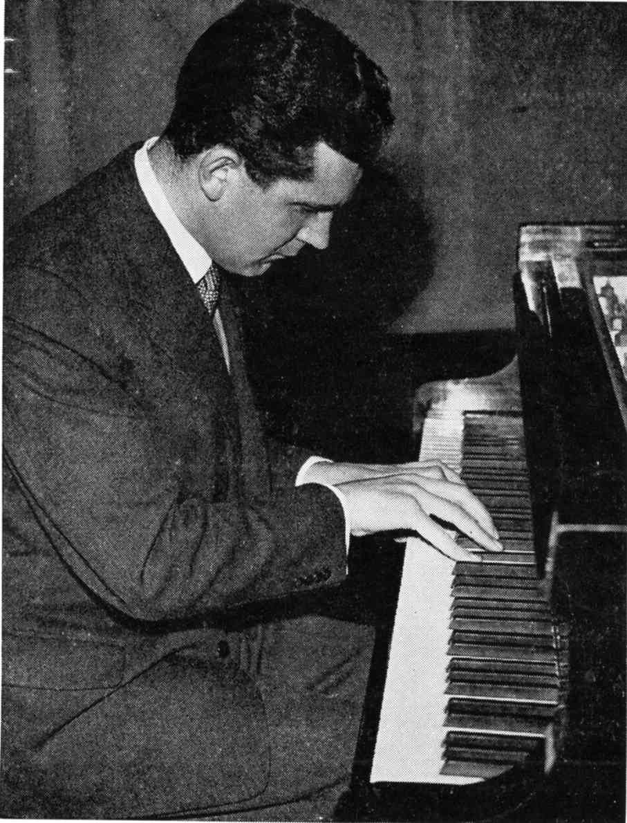Lawrence Glover, Belfast-born pianist