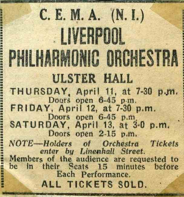 Liverpool Phil advertisement