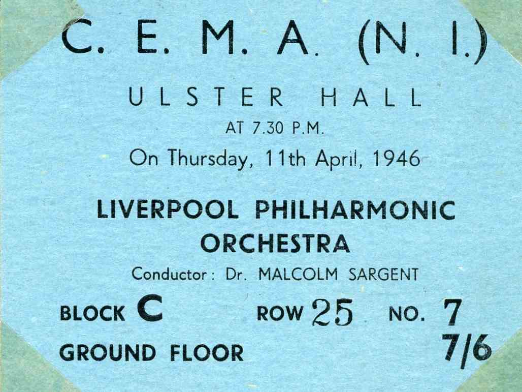 Liverpool Phil ticket