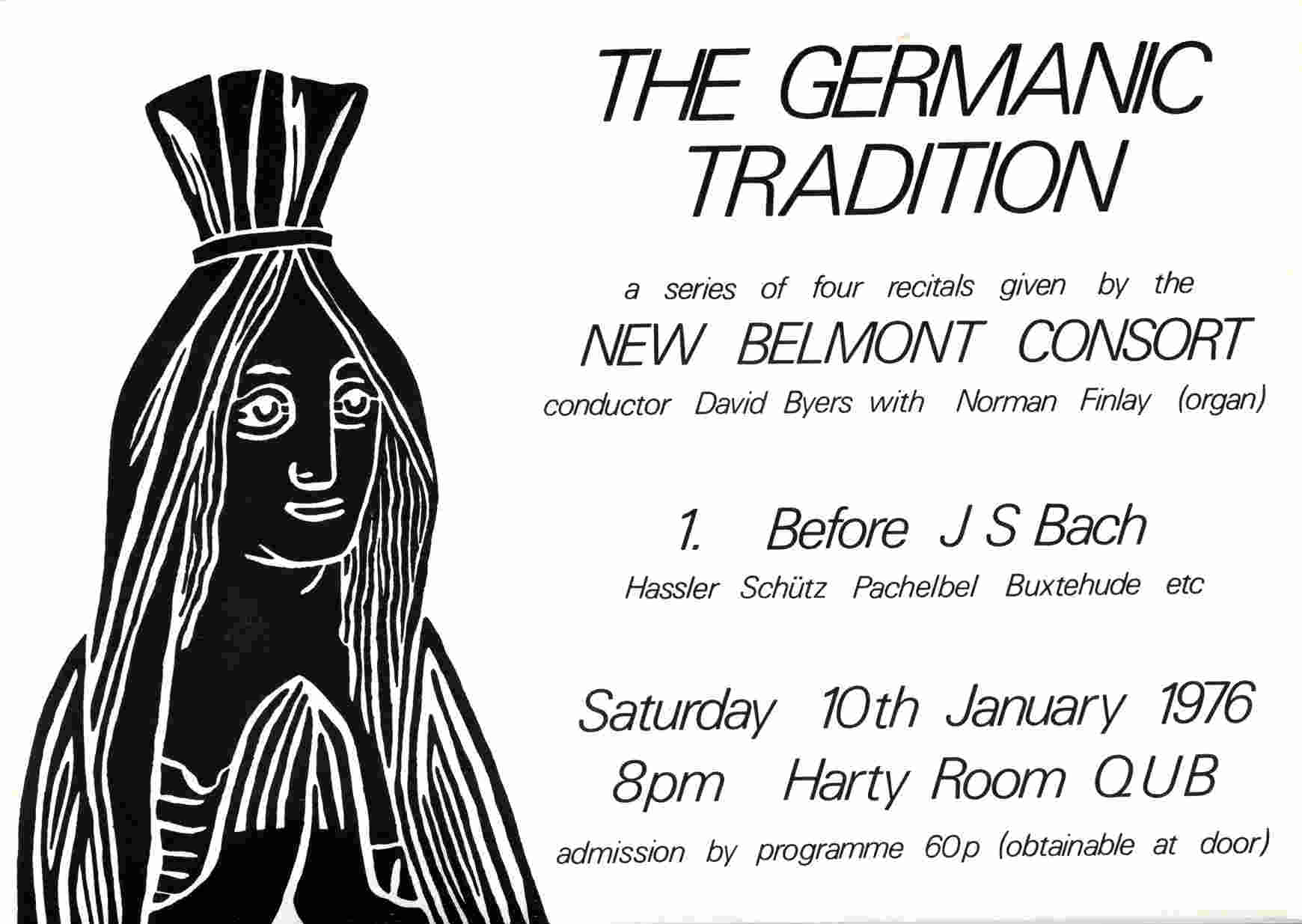 New Belmont Consort Germanic 1