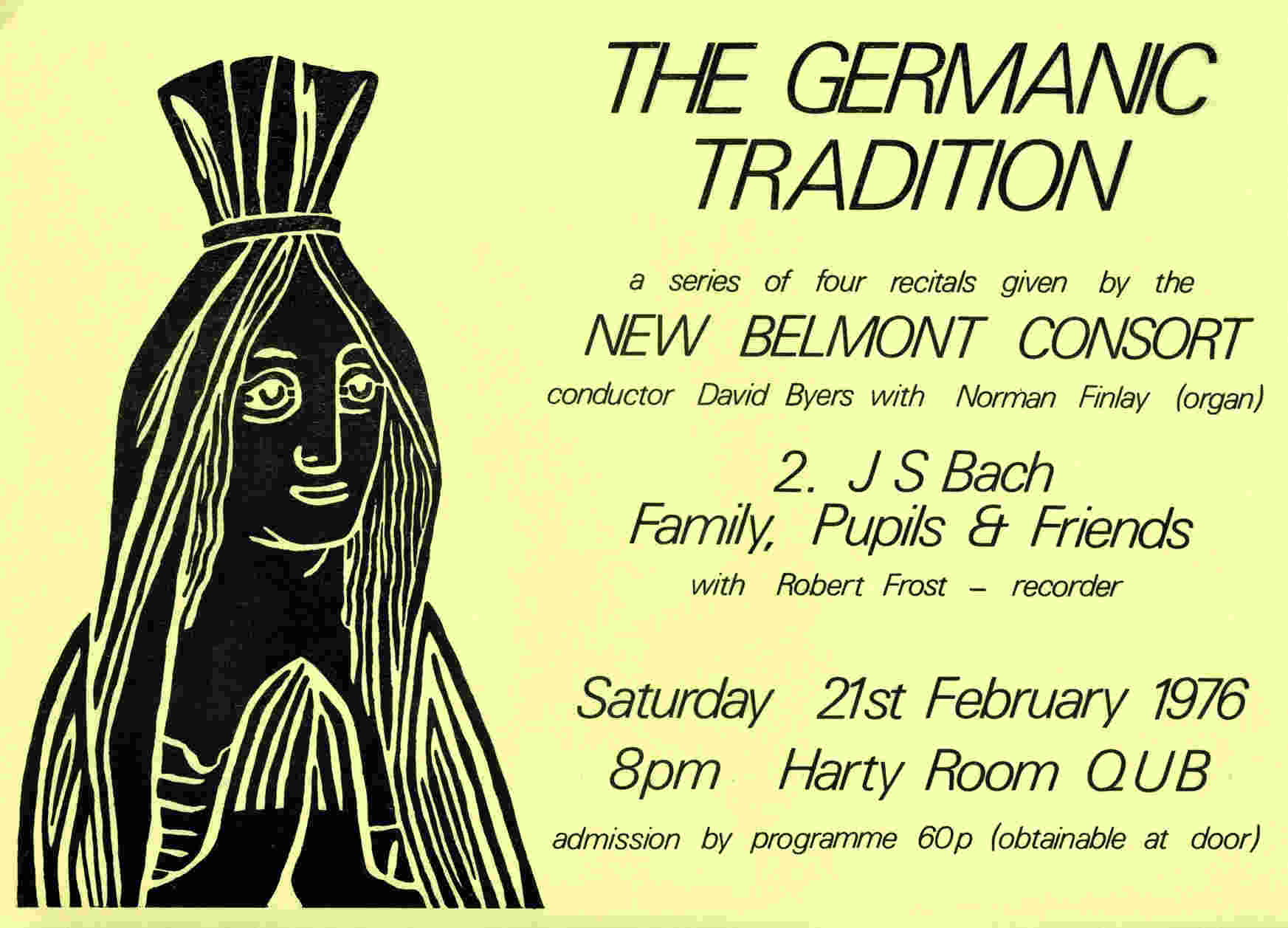 New Belmont Consort Germanic 2