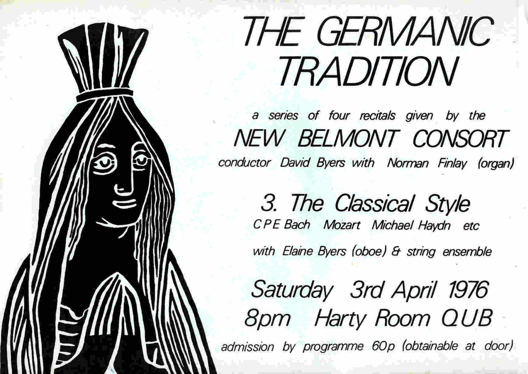 New Belmont Consort Germanic 3