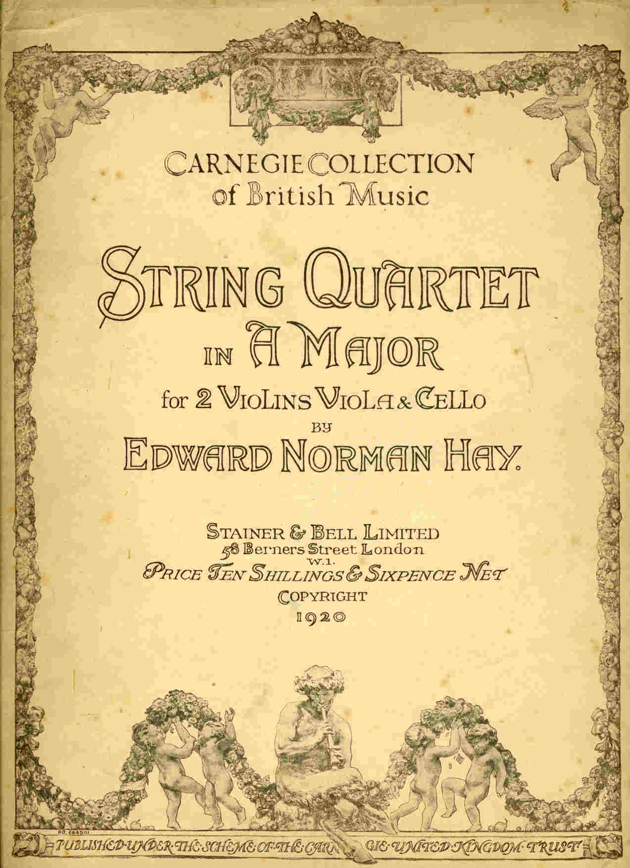Norman Hay String Quartet