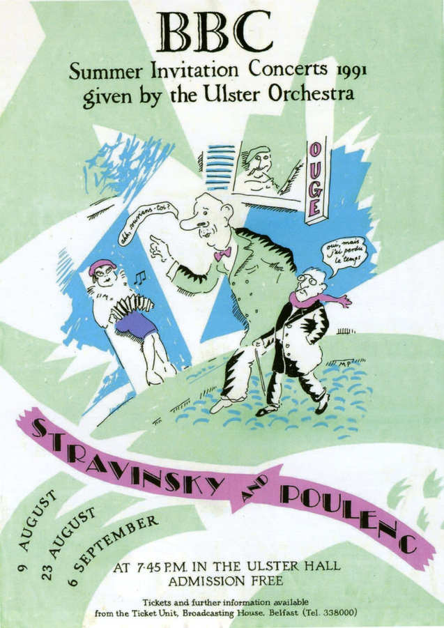 Ulster Orchestra poster 1992