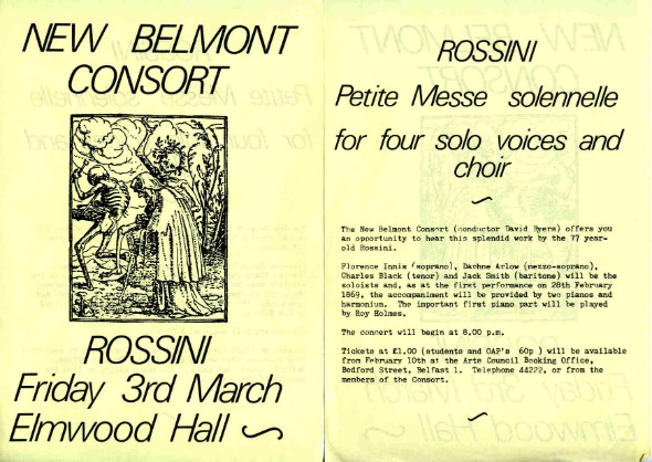 New Belmont Consort - Rossini