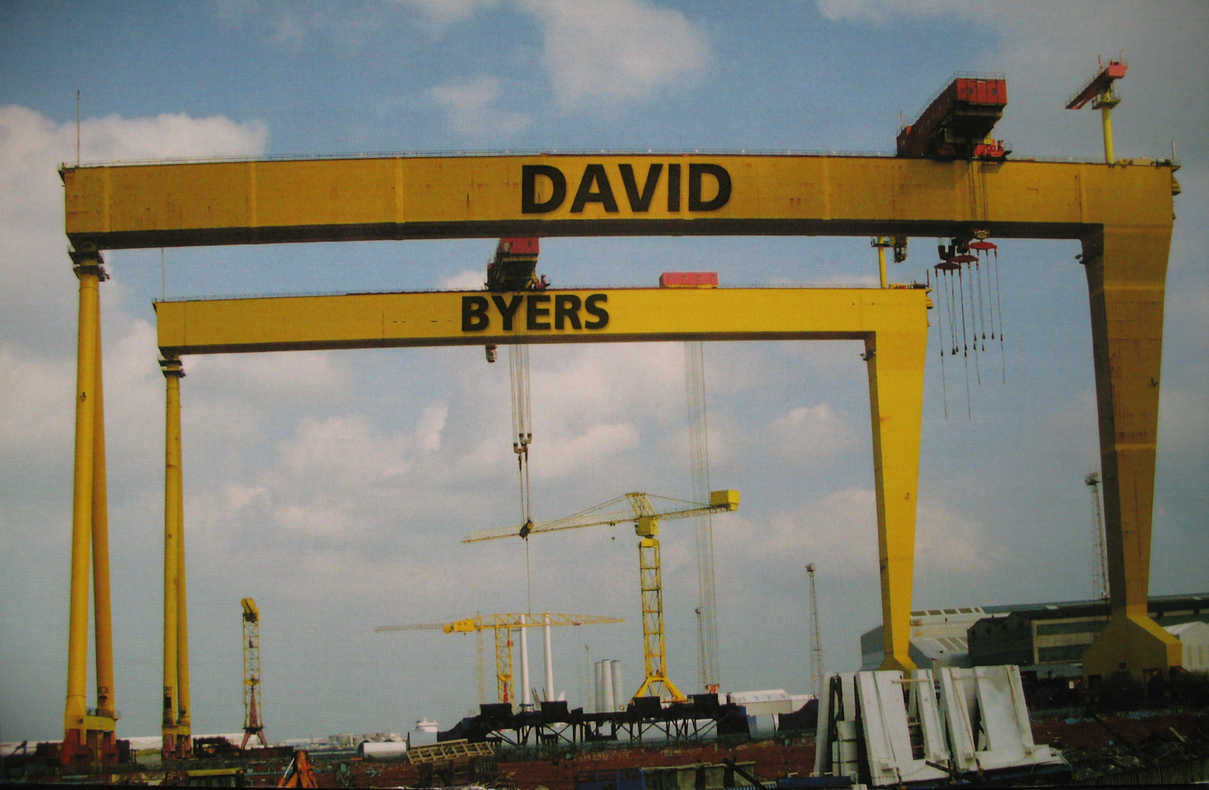 Samson and Goliath cranes in Belfast
