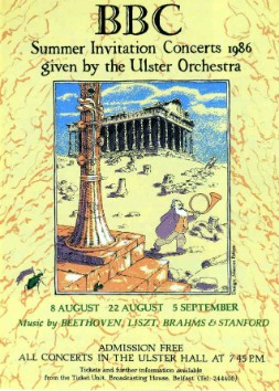 Ulster Orchestra poster 1986