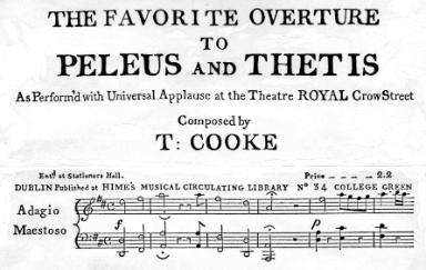 Cooke Overture to Peleus and Thetis