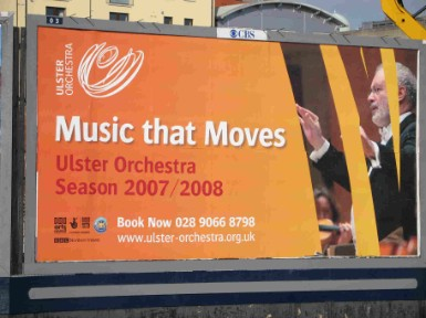 Ulster Orchestra poster 2007-2008