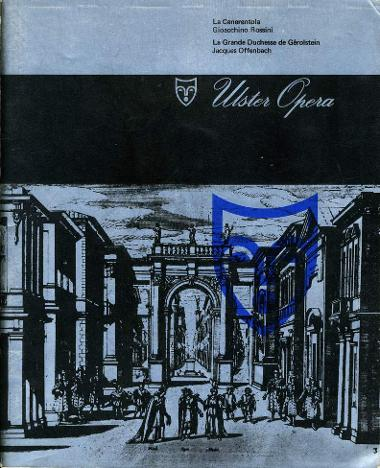 Programme cover for Ulster Opera season, November 1967.